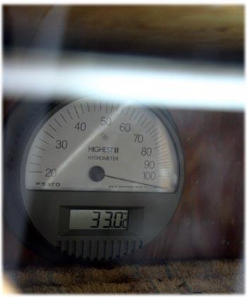 漆室の温度計