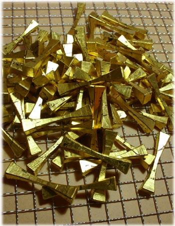 金箔の箸置1