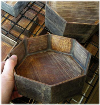 重箱の木地