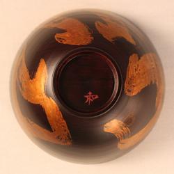 欅 飯椀(銀彩)F4