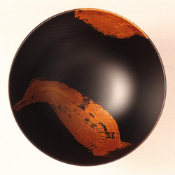 欅 飯椀(銀彩)F3