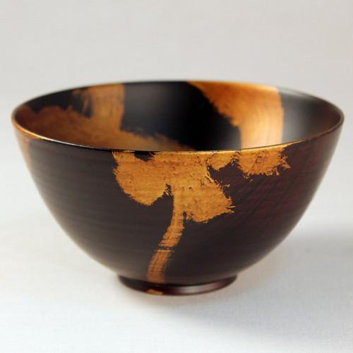 欅 飯椀(銀彩)H7
