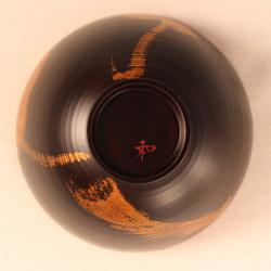 欅 飯椀(銀彩)H4