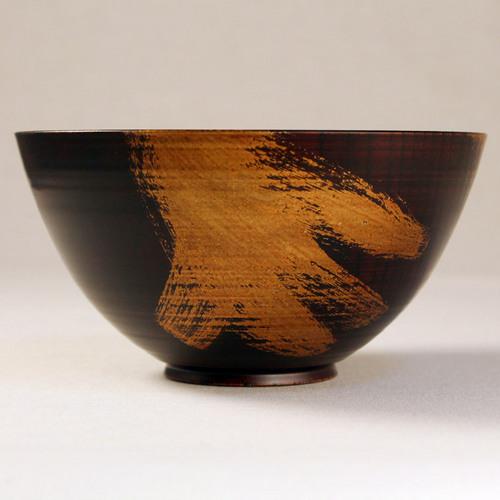欅 飯椀(銀彩)I1