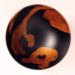 欅 飯椀(銀彩)I3