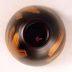 欅 飯椀(銀彩)I4