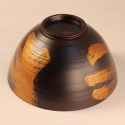 欅 飯椀(銀彩)I5