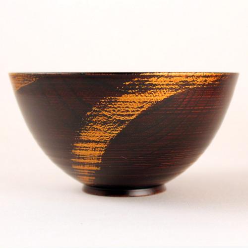 欅 飯椀(銀彩)B